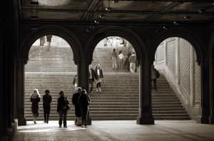 RicardMN Photography Sold A Print Of Under Bethesda Terrace To A Buyer From Brooklyn, NY - United States