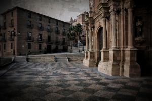 RicardMN Photography Sold A Greeting Card Of Calahorra Cathedral And Palace To A Buyer From Chicago, IL - United States